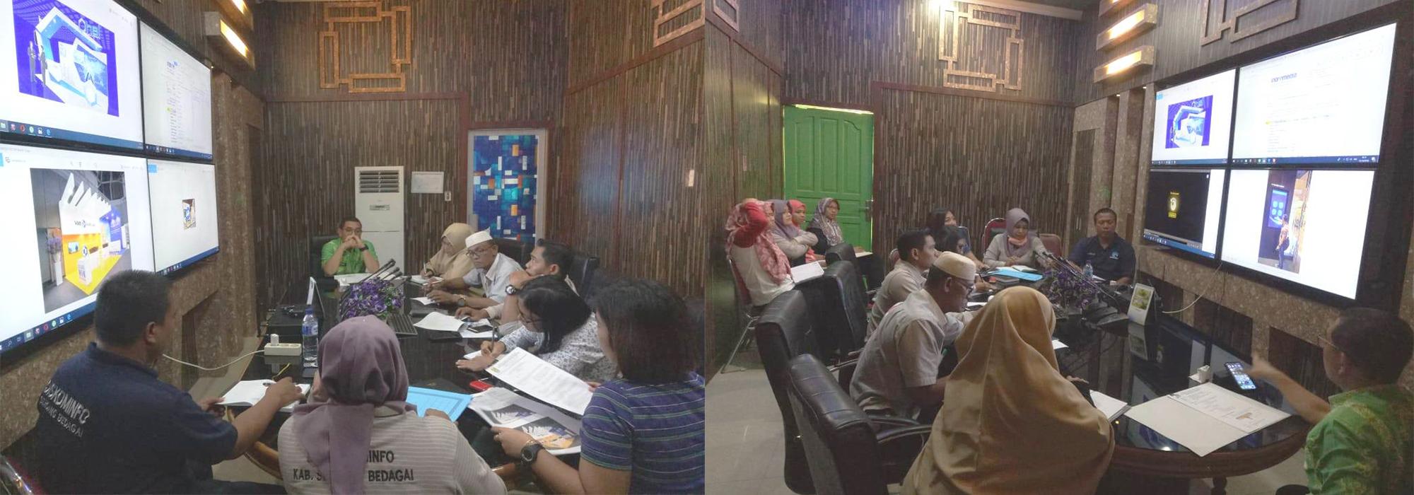Dinas Kominfo Rapat Persiapan HUT Sergai ke-15 Tahun 2019