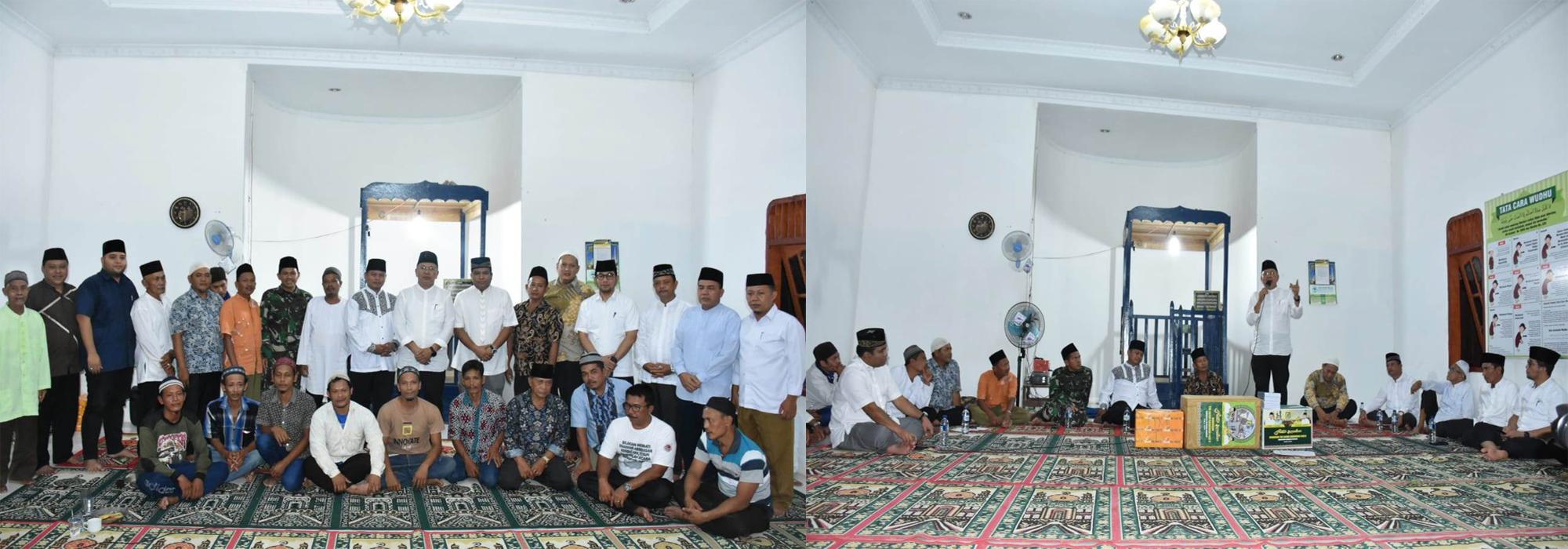 Kadis Kominfo Turut Dampingi Bupati Sergai Safari Ramadhan di Kecamatan Silinda