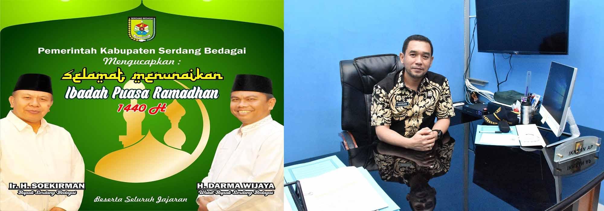 Kadis Kominfo Berikan Ucapan Selamat Menyambut Bulan Suci Ramadhan 1440 H Diskominfo