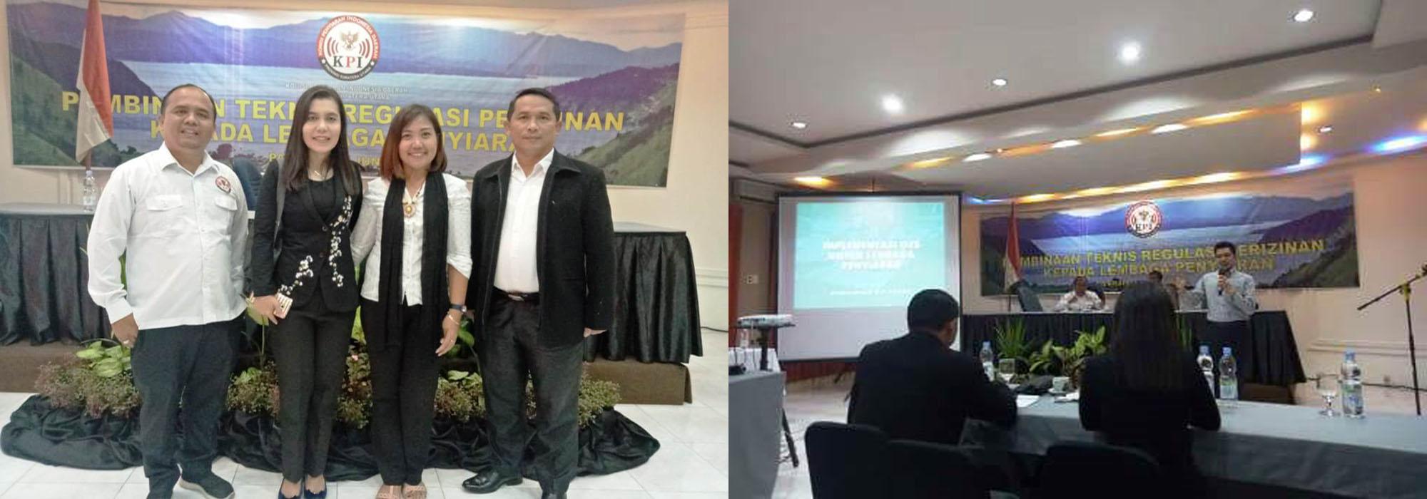 Kominfo Sergai Turut Serta Pembinaan Teknis Regulasi Perizinan Lembaga Penyiaran