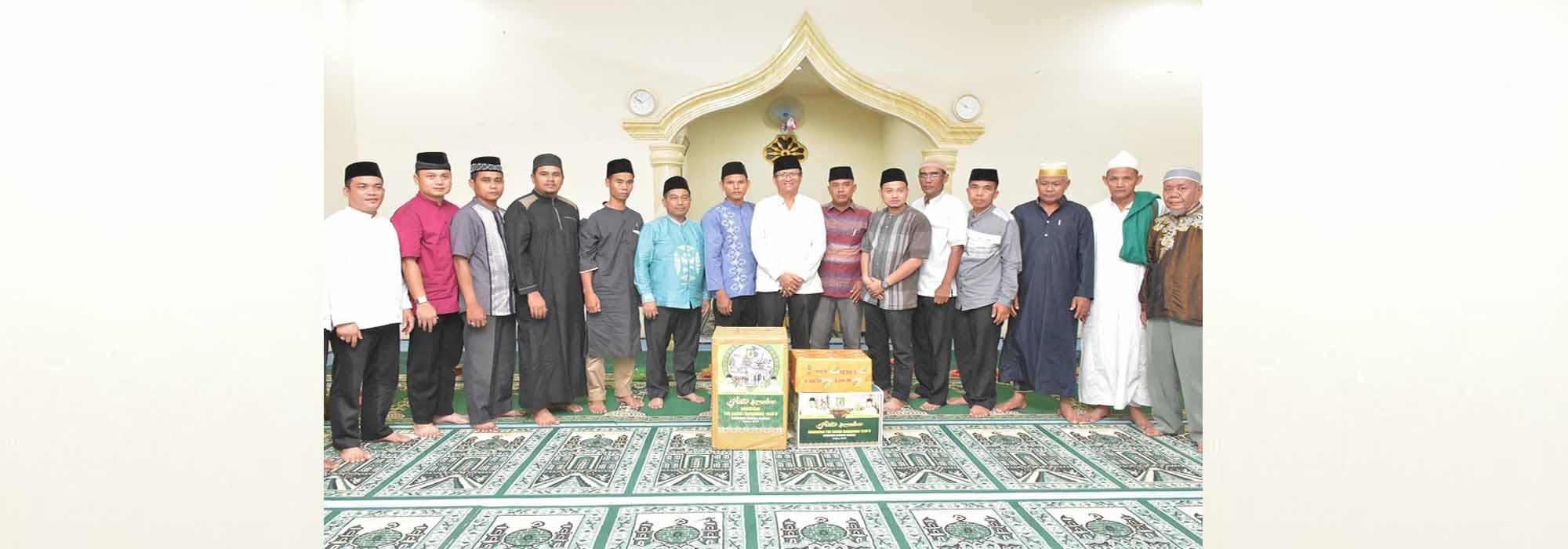 Kabid Penyelenggaraan e-Government Dinas Kominfo Safari Ramadhan Bersama Tim III di Kecamatan Dolok Merawan