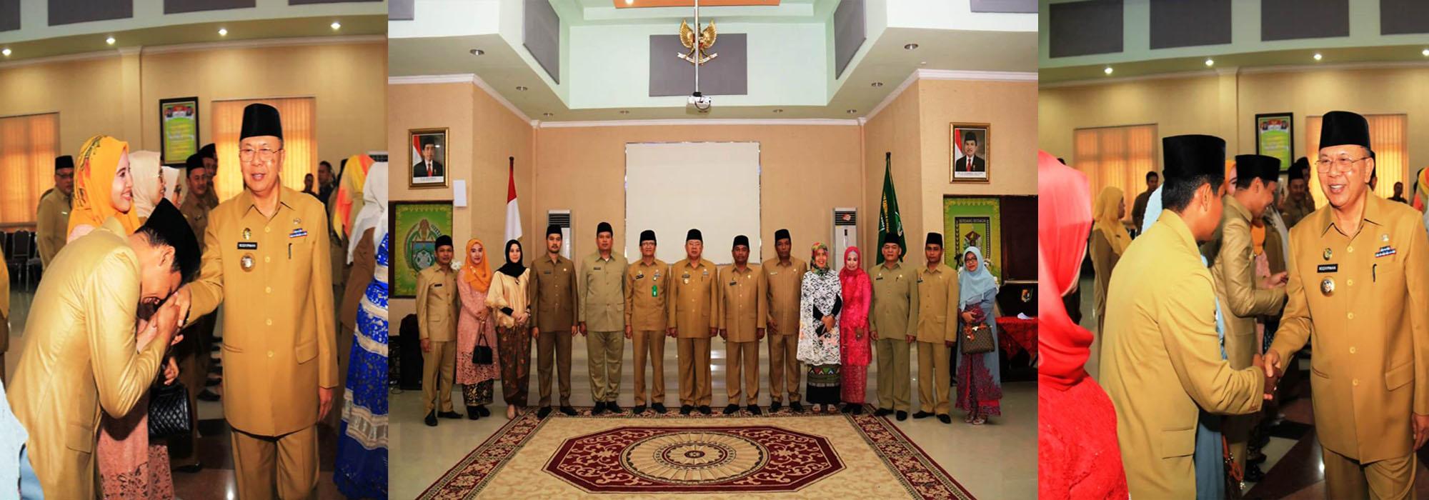 46 Pejabat Dilantik, 3 Diantaranya Pejabat Administrator Dinas Kominfo