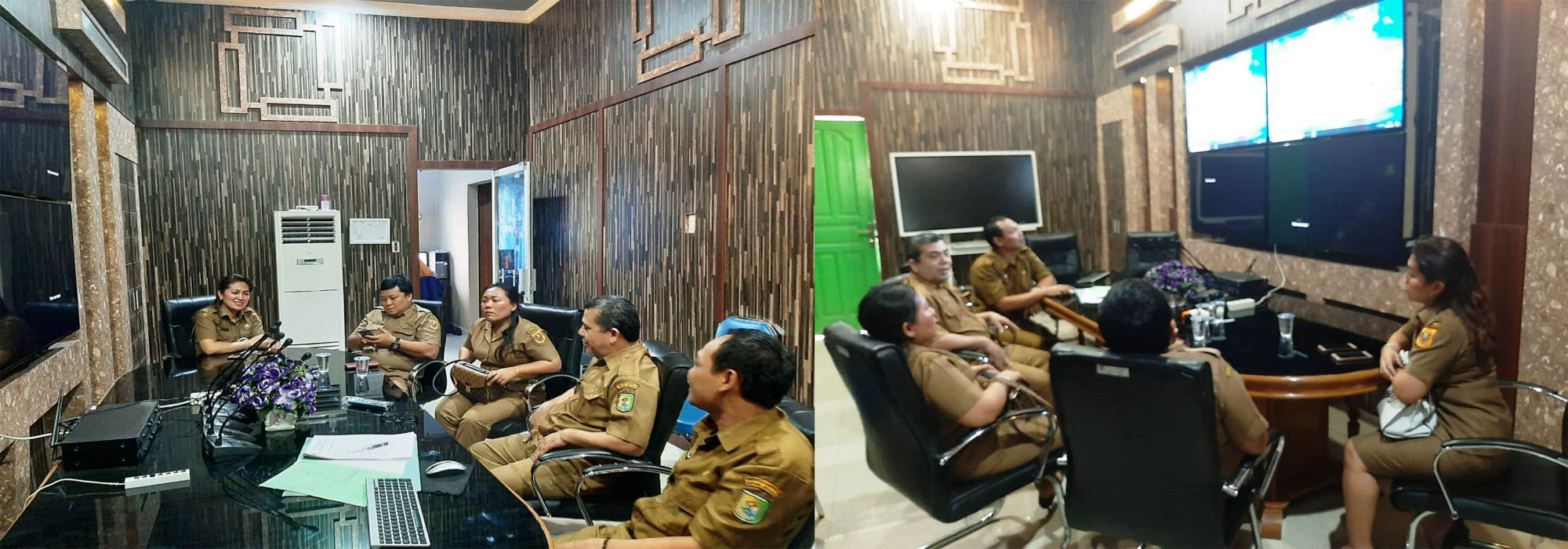 Kunjungan Kerja Dinas Kominfo Kabupaten Dairi