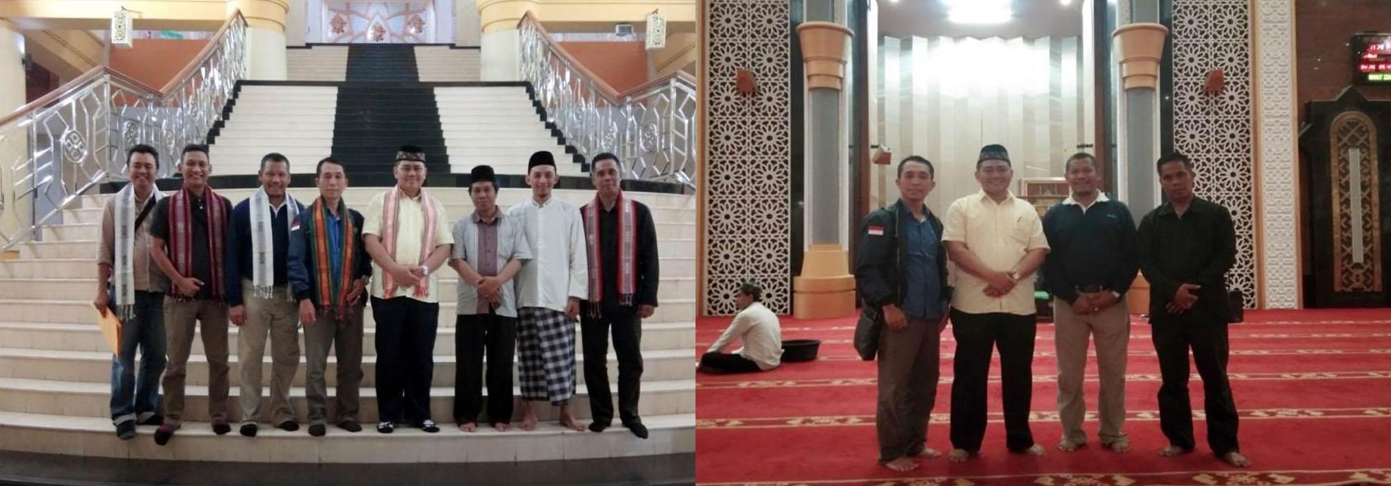 Studi Tiru Ke MasjidHubbul Wathan Islamic Center Di Mataram