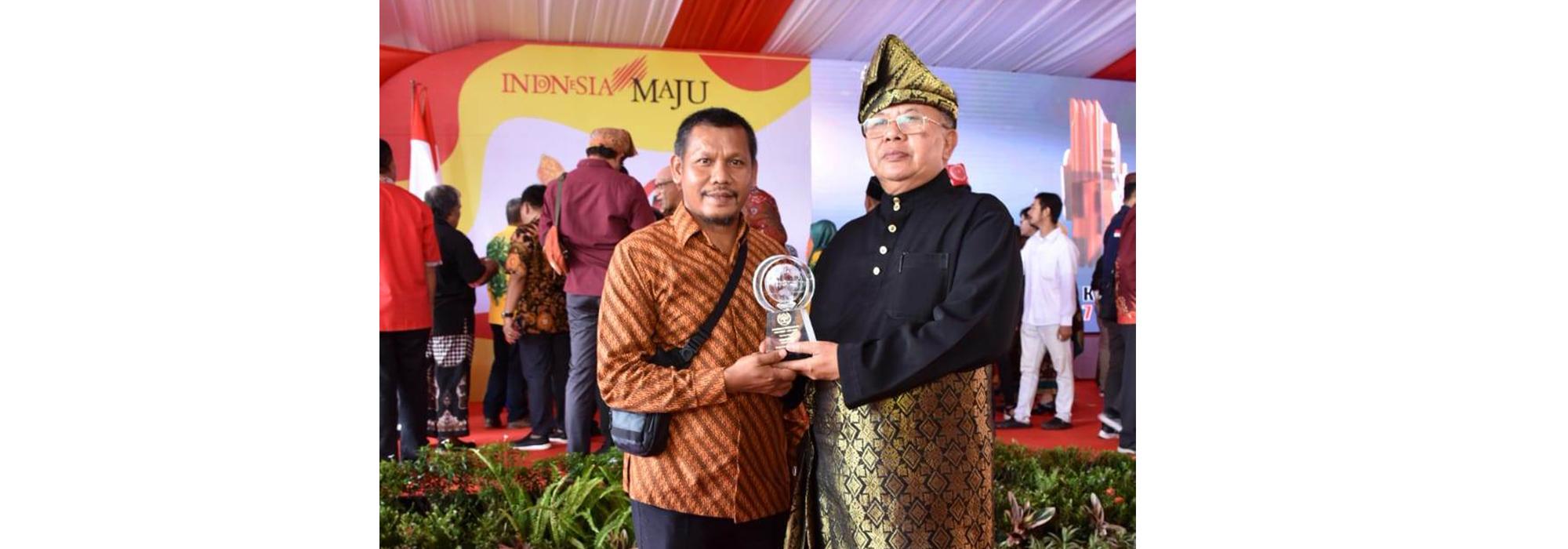 """Bupati Sergai Raih Anugerah Kebudayaan PWI, Kadis Kominfo: """" Penghargaan Prestisius Dari Lembaga Kredibilitas """""""