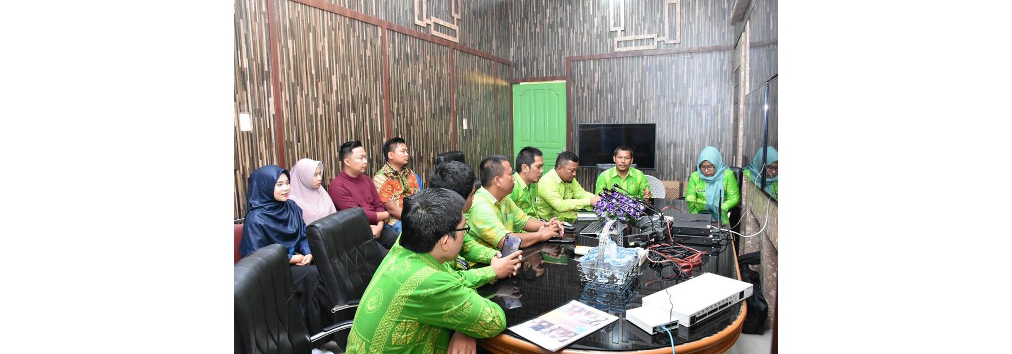 Dinas Kominfo Sergai, Kelola Media Center Secara Profesional