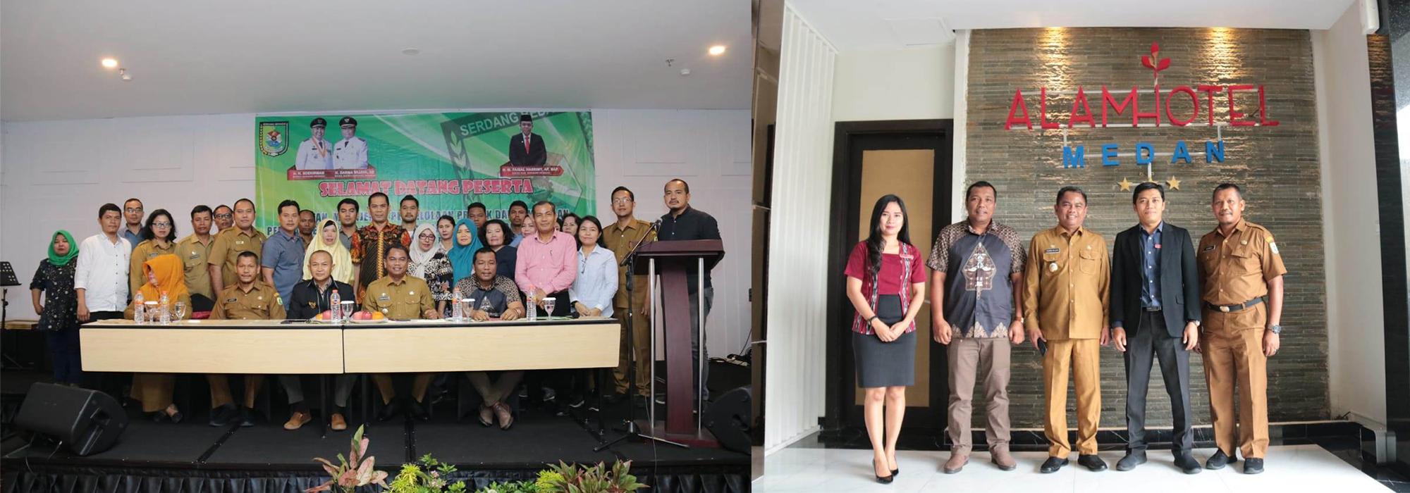 Dinas Kominfo Sergai komitmen Tertib Regulasi Pengadaan Barang dan Jasa