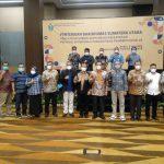 Kadis Kominfo Sergai Hadiri Pertemuan Bakohumas Provsu Tahun 2021