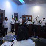 Dinas Kominfo Sergai Gelar Apel Perdana Bulan September